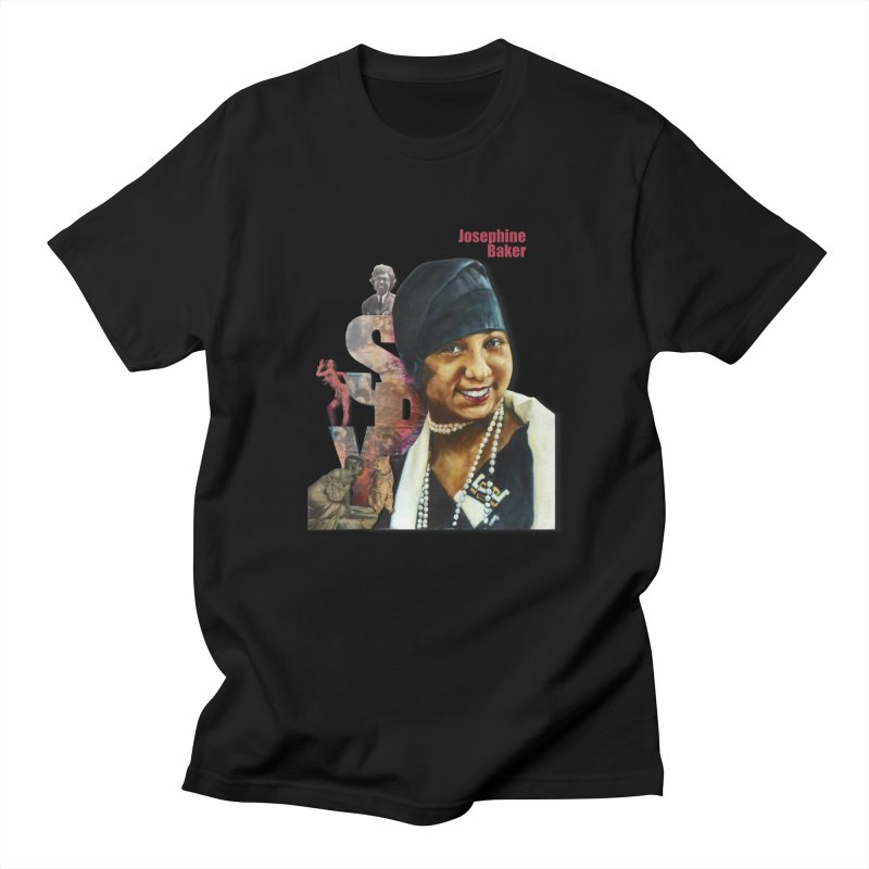 Josephine Baker Women's Regular Unisex T-Shirt by Afro Triangle's