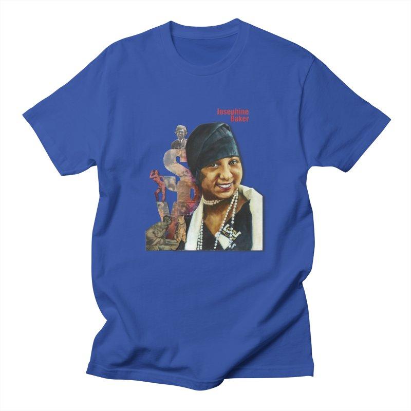 Josephine Baker Men's Regular T-Shirt by Afro Triangle's