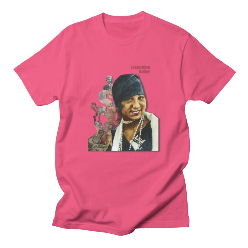 Josephine Baker Men's T-shirt by Afro Triangle's