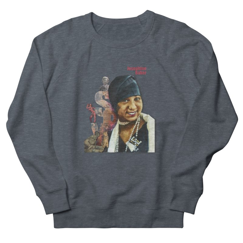 Josephine Baker Women's French Terry Sweatshirt by Afro Triangle's