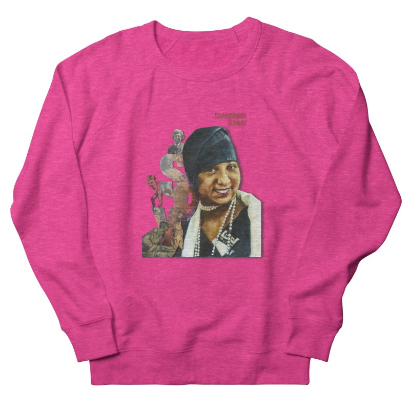 Josephine Baker Men's French Terry Sweatshirt by Afro Triangle's