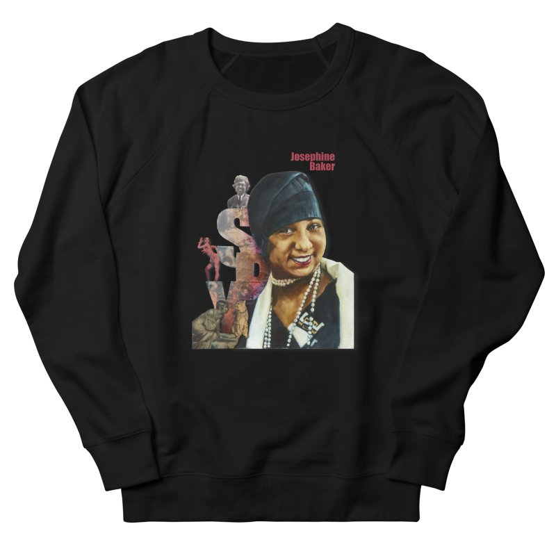 Josephine Baker Men's Sweatshirt by Afro Triangle's