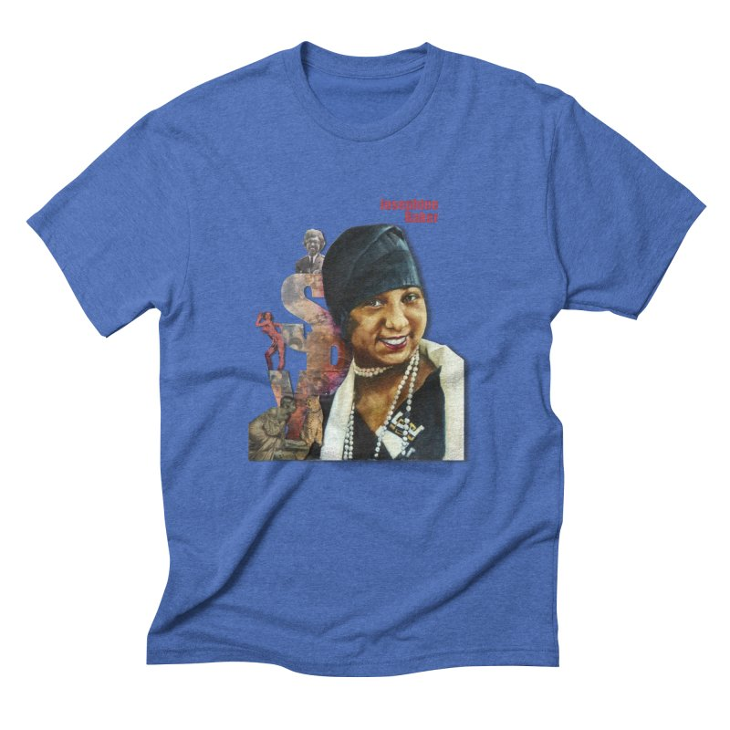 Josephine Baker Men's Triblend T-Shirt by Afro Triangle's