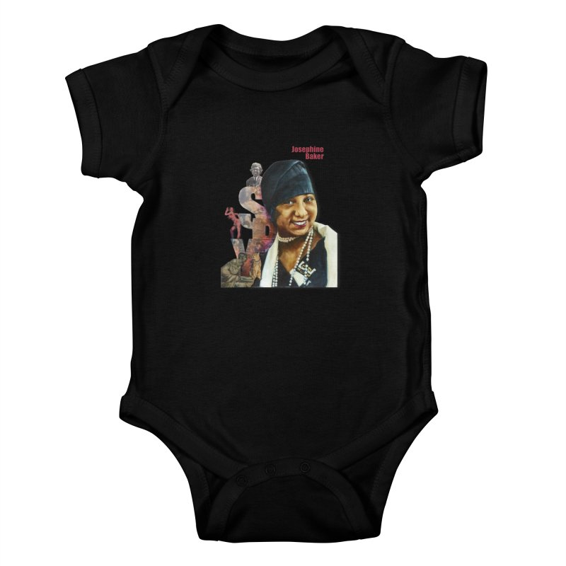 Josephine Baker Kids Baby Bodysuit by Afro Triangle's