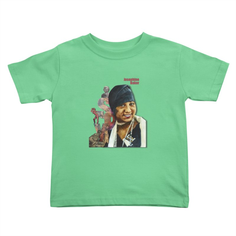 Josephine Baker Kids Toddler T-Shirt by Afro Triangle's