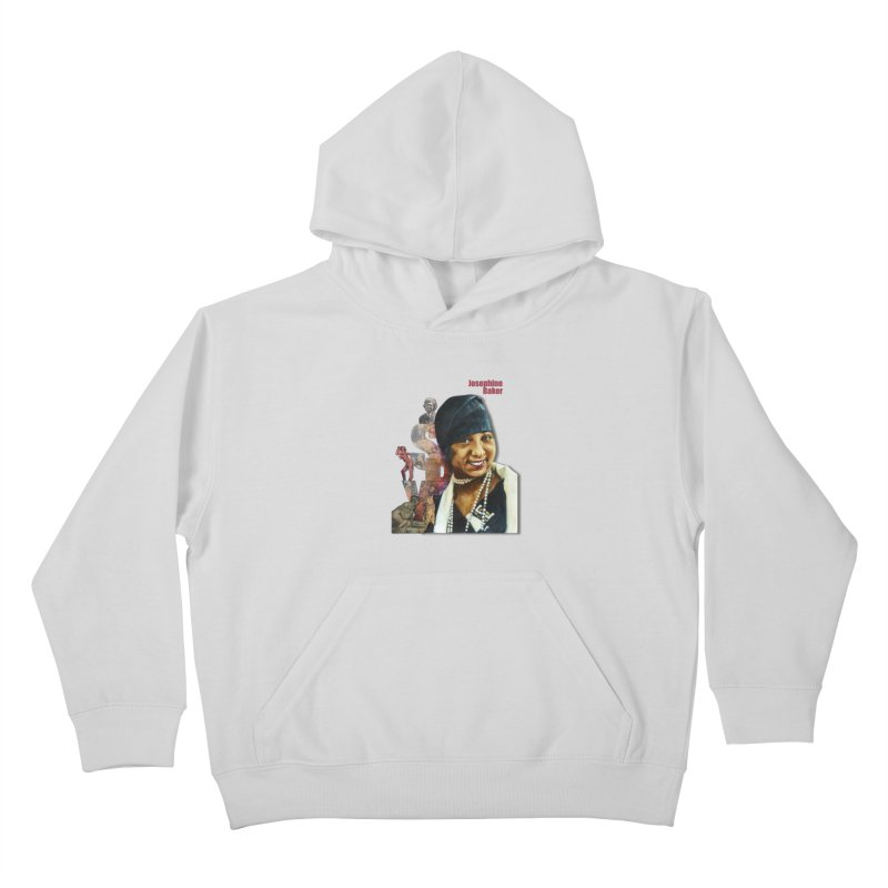 Josephine Baker Kids Pullover Hoody by Afro Triangle's