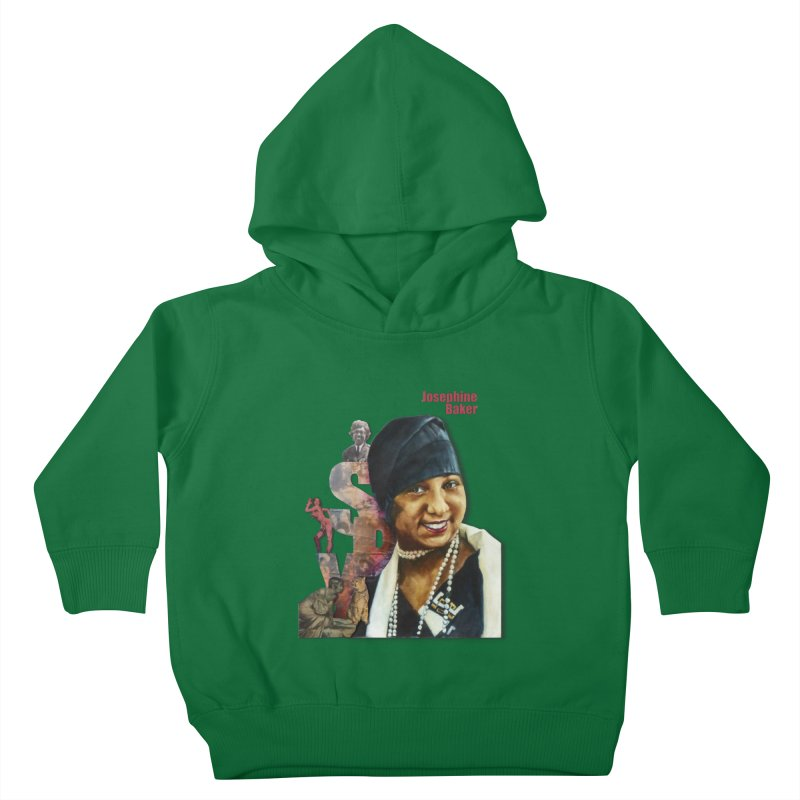 Josephine Baker Kids Toddler Pullover Hoody by Afro Triangle's