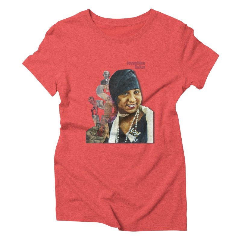 Josephine Baker Women's Triblend T-Shirt by Afro Triangle's