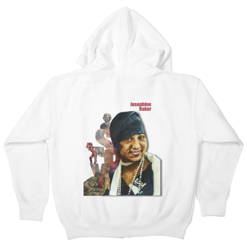 Josephine Baker Kids Zip-Up Hoody by Afro Triangle's