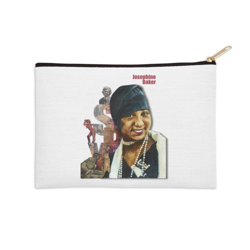 Josephine Baker Accessories Zip Pouch by Afro Triangle's