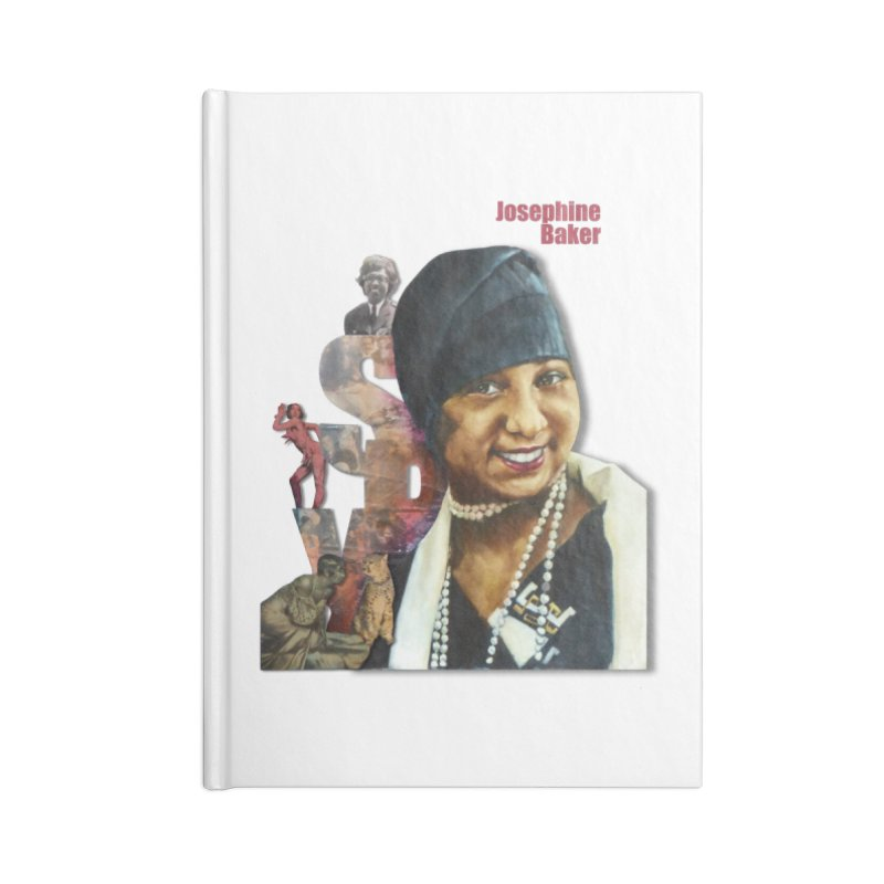 Josephine Baker Accessories Notebook by Afro Triangle's