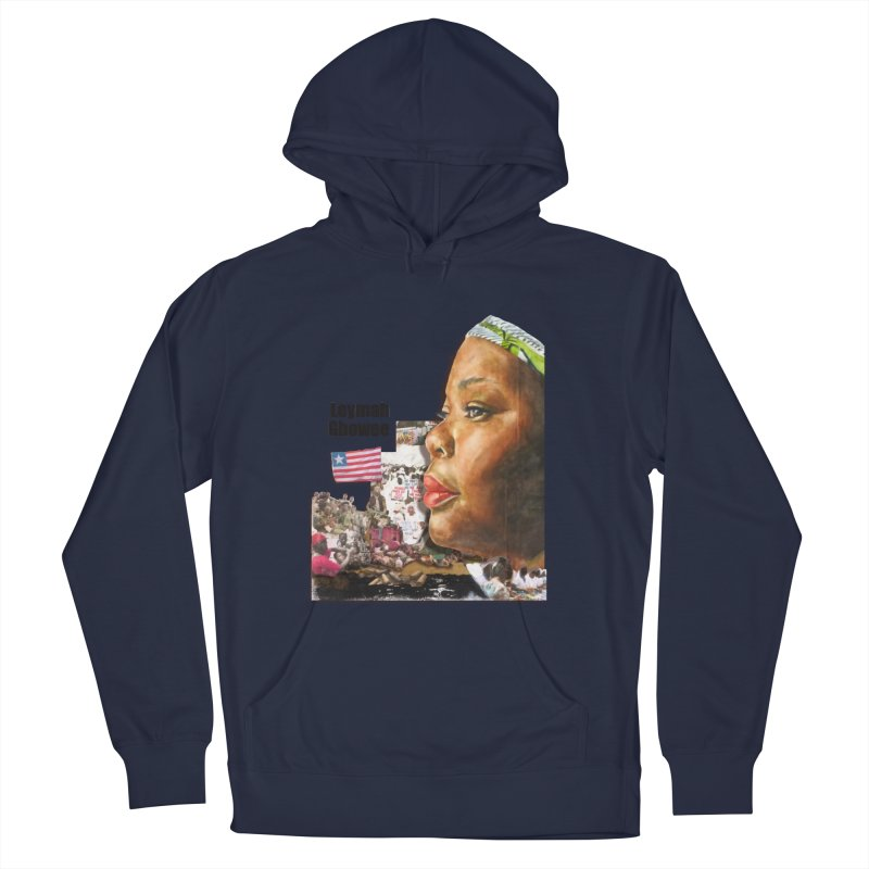 Leymah Gbowee  Remix Men's Pullover Hoody by Afro Triangle's