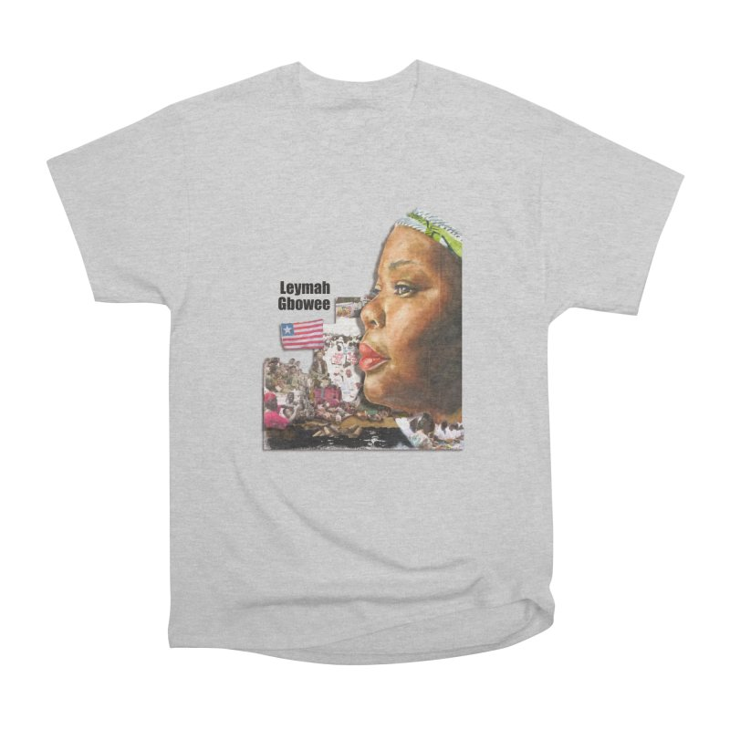Leymah Gbowee  Remix Men's Classic T-Shirt by Afro Triangle's