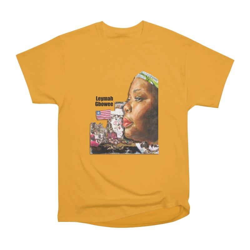 Leymah Gbowee  Remix Women's Heavyweight Unisex T-Shirt by Afro Triangle's