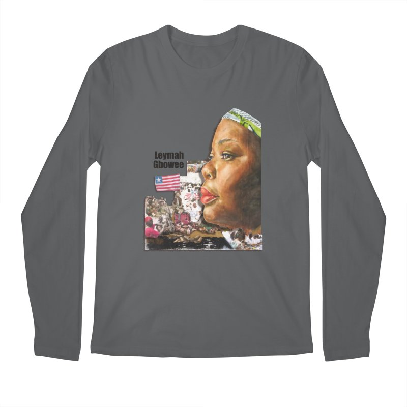 Leymah Gbowee  Remix Men's Longsleeve T-Shirt by Afro Triangle's