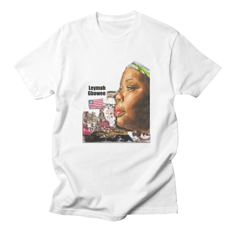 Leymah Gbowee  Remix Men's T-Shirt by Afro Triangle's