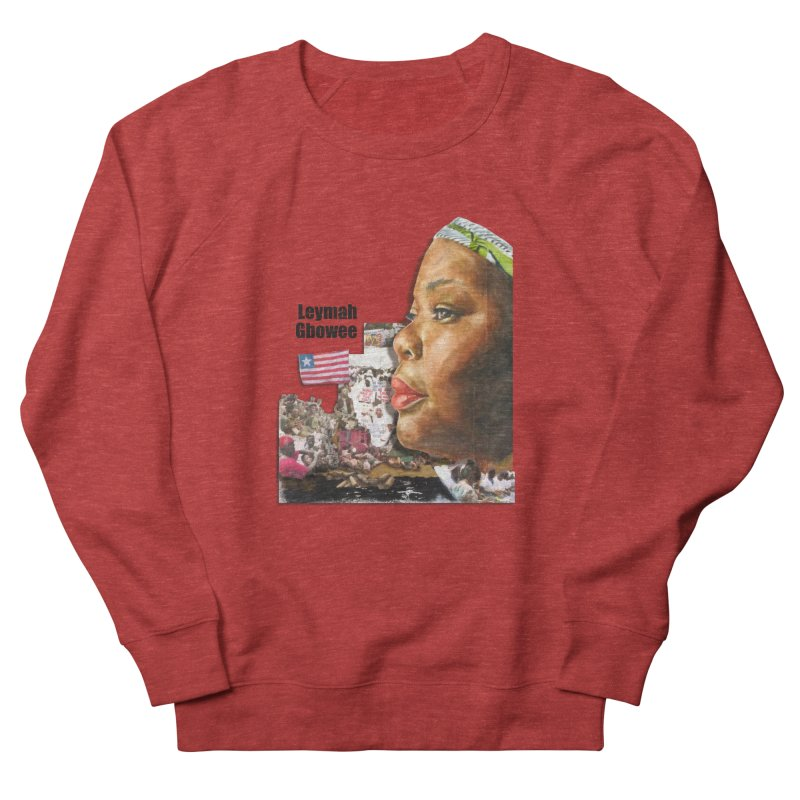Leymah Gbowee  Remix Women's Sweatshirt by Afro Triangle's