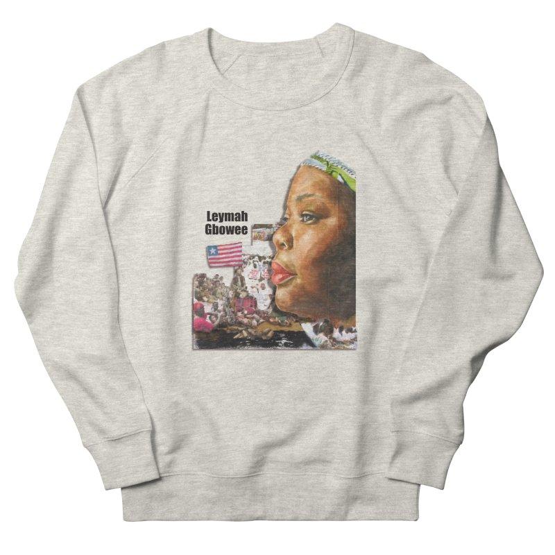 Leymah Gbowee  Remix Men's Sweatshirt by Afro Triangle's