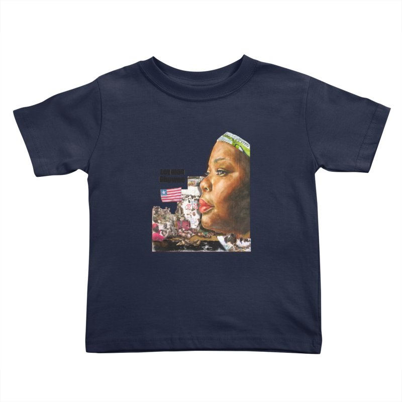 Leymah Gbowee  Remix Kids Toddler T-Shirt by Afro Triangle's