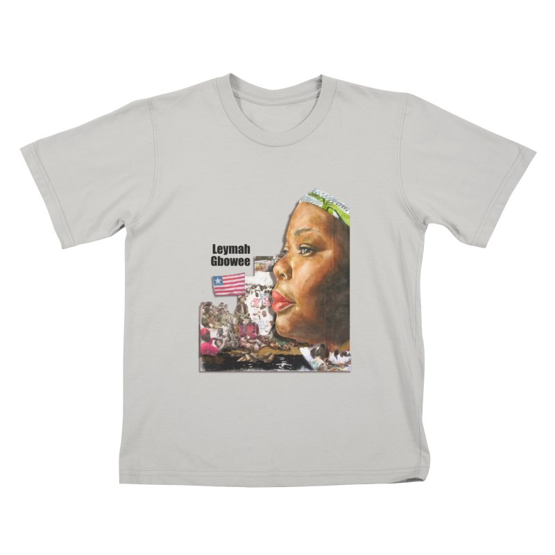 Leymah Gbowee  Remix Kids T-Shirt by Afro Triangle's
