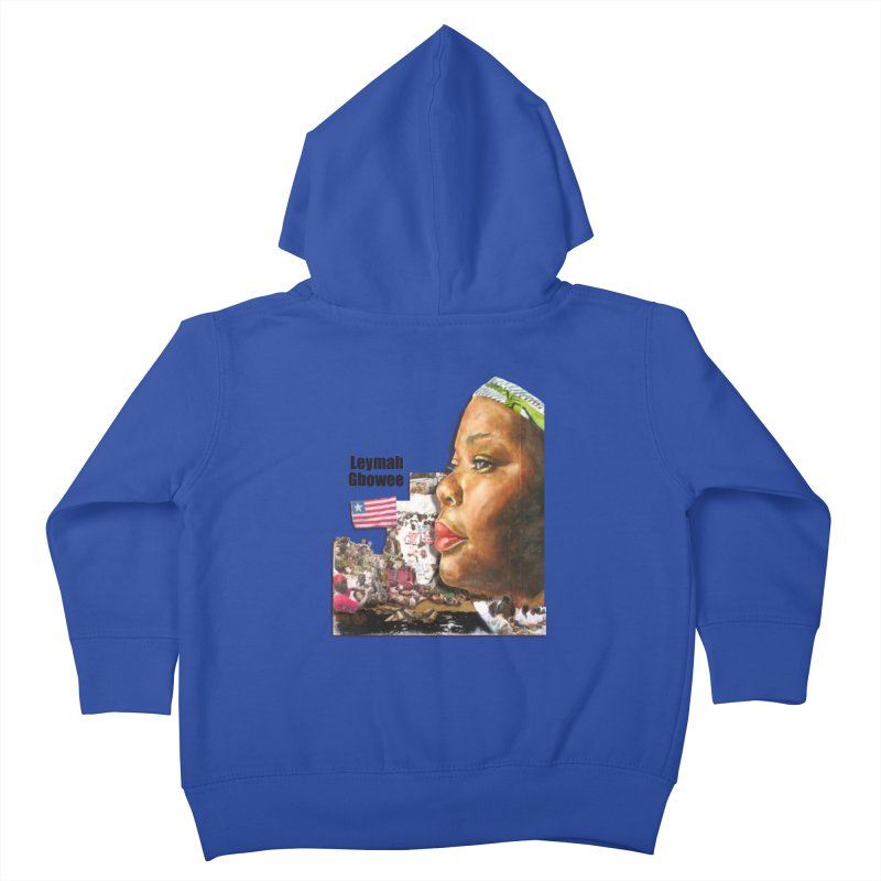 Leymah Gbowee  Remix Kids Toddler Zip-Up Hoody by Afro Triangle's