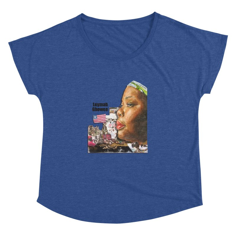 Leymah Gbowee  Remix Women's Dolman by Afro Triangle's