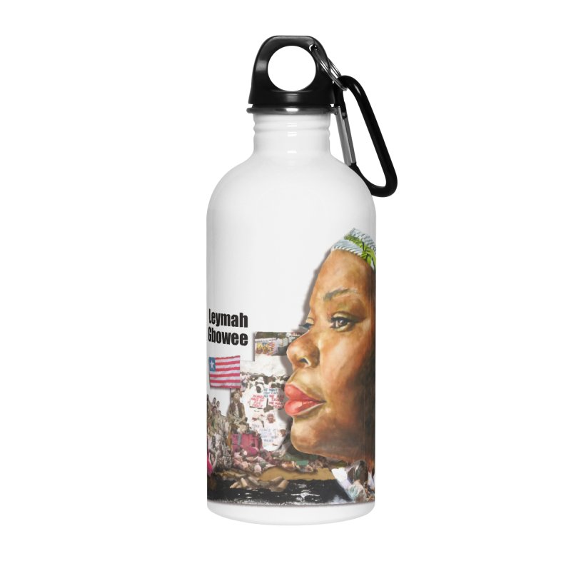 Leymah Gbowee  Remix Accessories Water Bottle by Afro Triangle's