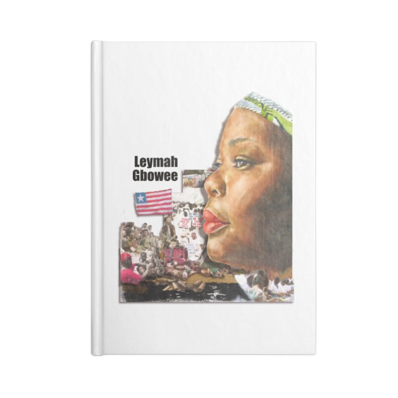 Leymah Gbowee  Remix Accessories Notebook by Afro Triangle's