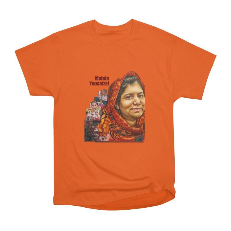 Malala Yousafzai Women's Classic Unisex T-Shirt by Afro Triangle's