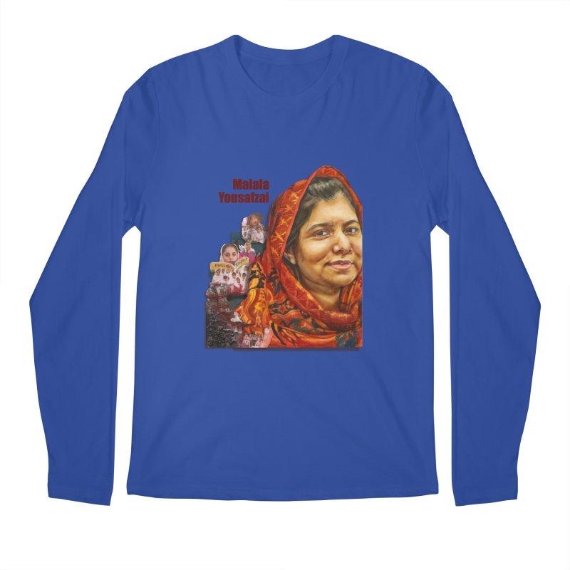 Malala Yousafzai Men's Regular Longsleeve T-Shirt by Afro Triangle's