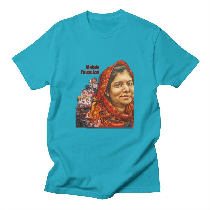 Malala Yousafzai Women's Unisex T-Shirt by Afro Triangle's