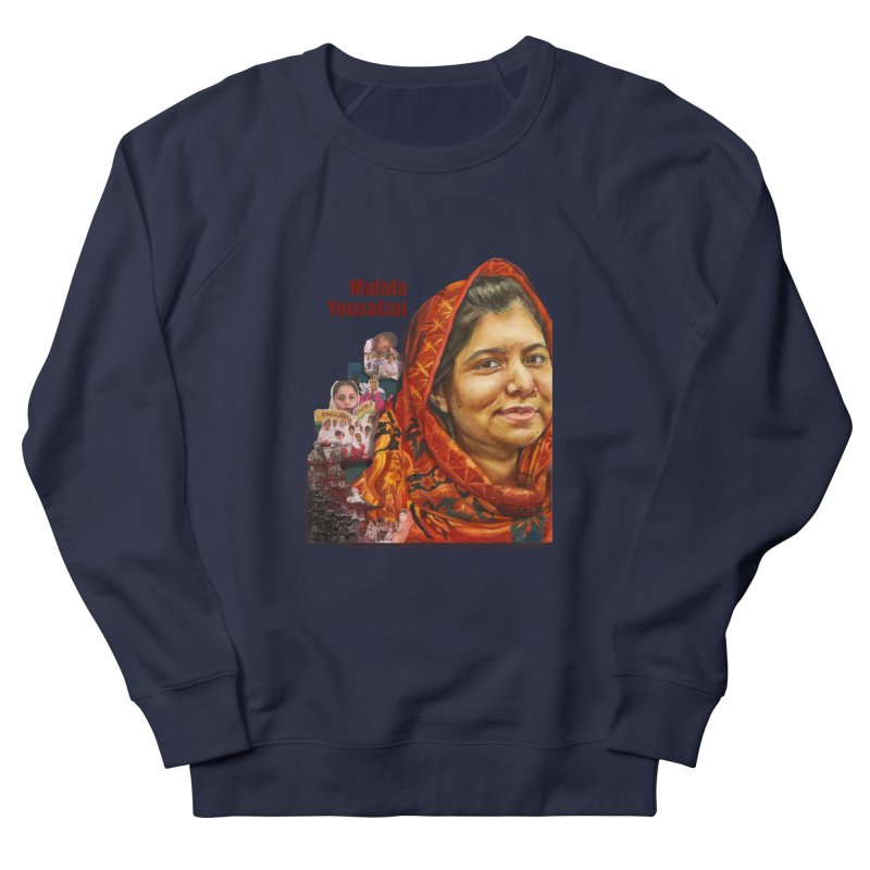 Malala Yousafzai Women's Sweatshirt by Afro Triangle's