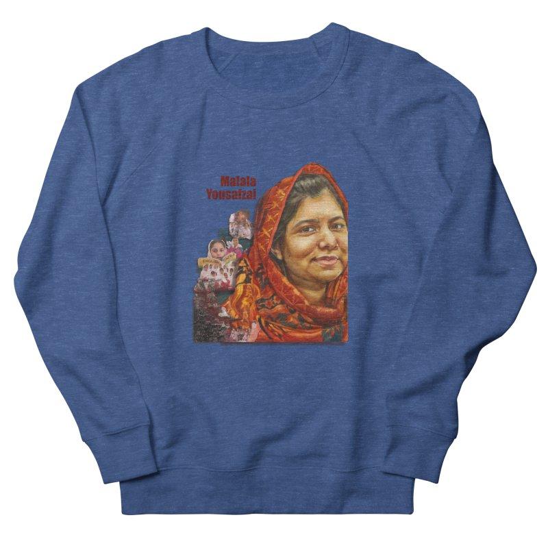 Malala Yousafzai Men's Sweatshirt by Afro Triangle's