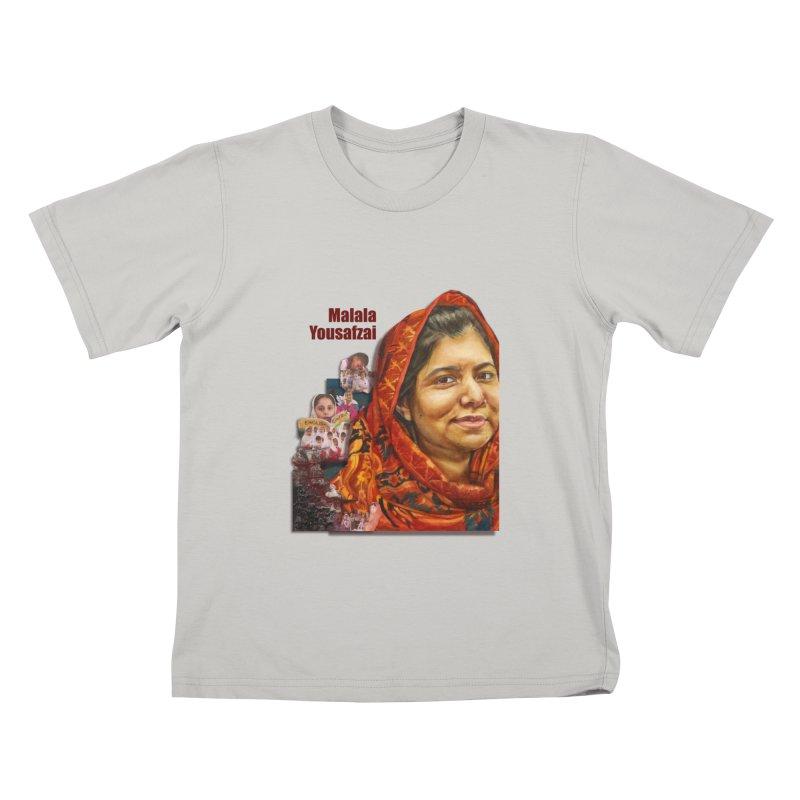 Malala Yousafzai Kids T-Shirt by Afro Triangle's