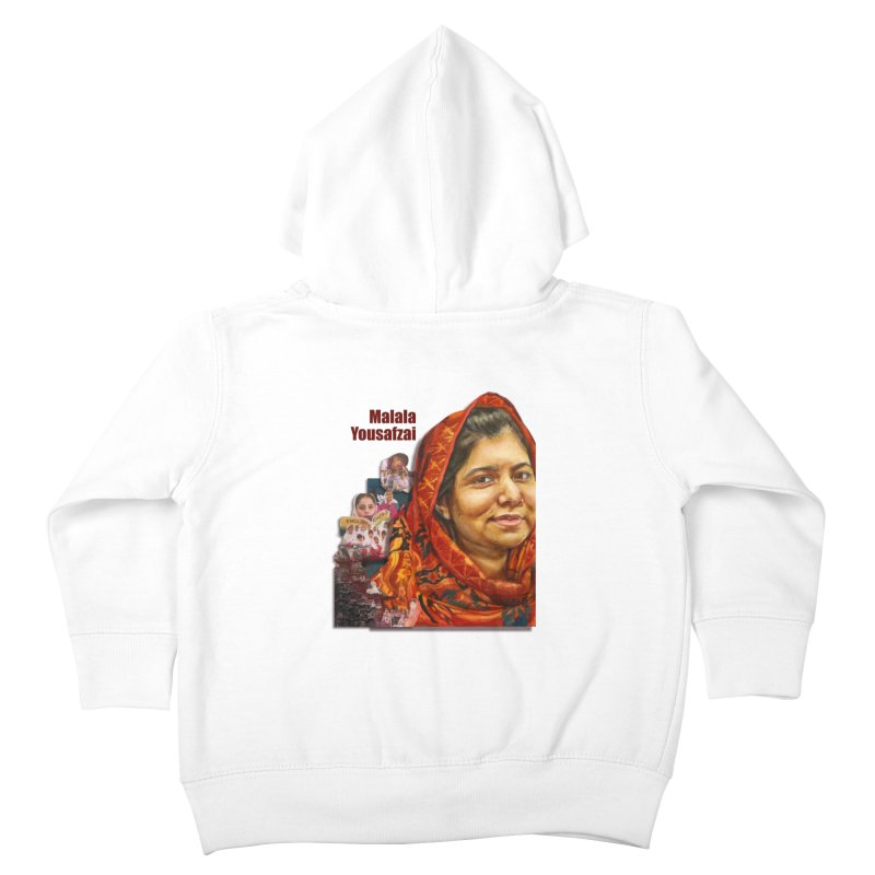 Malala Yousafzai Kids Toddler Zip-Up Hoody by Afro Triangle's