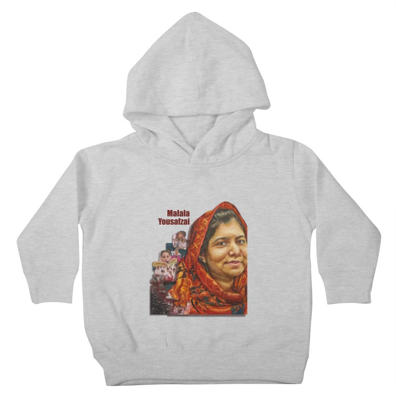 Malala Yousafzai Kids Toddler Pullover Hoody by Afro Triangle's