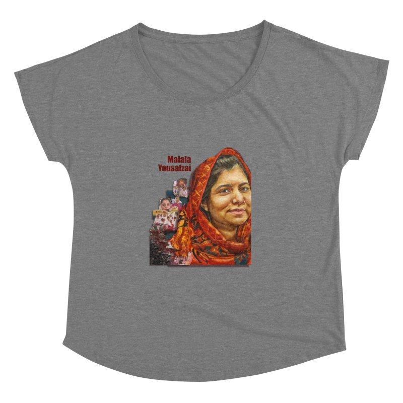 Malala Yousafzai Women's Dolman by Afro Triangle's