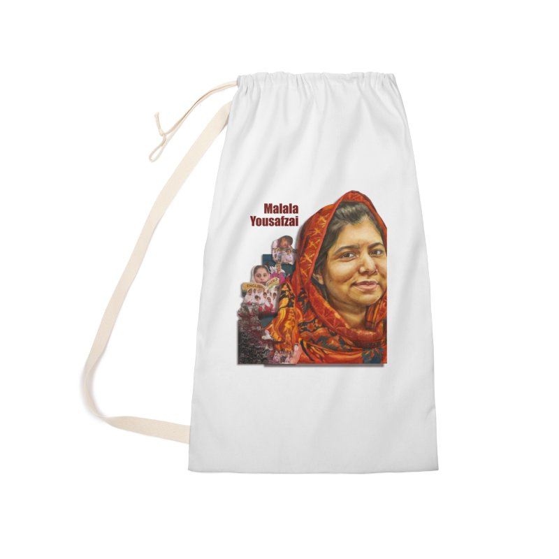 Malala Yousafzai Accessories Bag by Afro Triangle's