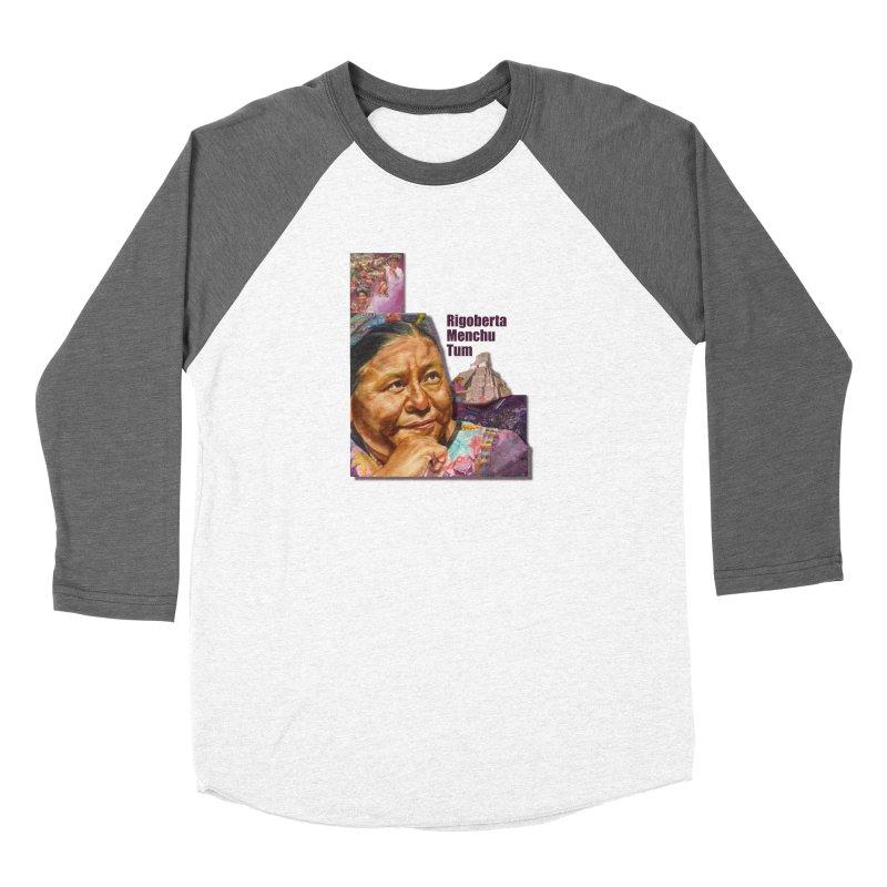 Rigoberta Menchu Tum Women's Longsleeve T-Shirt by Afro Triangle's
