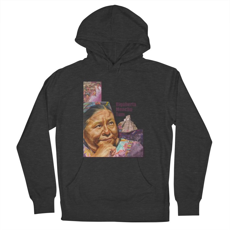 Rigoberta Menchu Tum Women's French Terry Pullover Hoody by Afro Triangle's