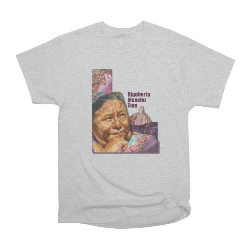 Rigoberta Menchu Tum Men's T-Shirt by Afro Triangle's