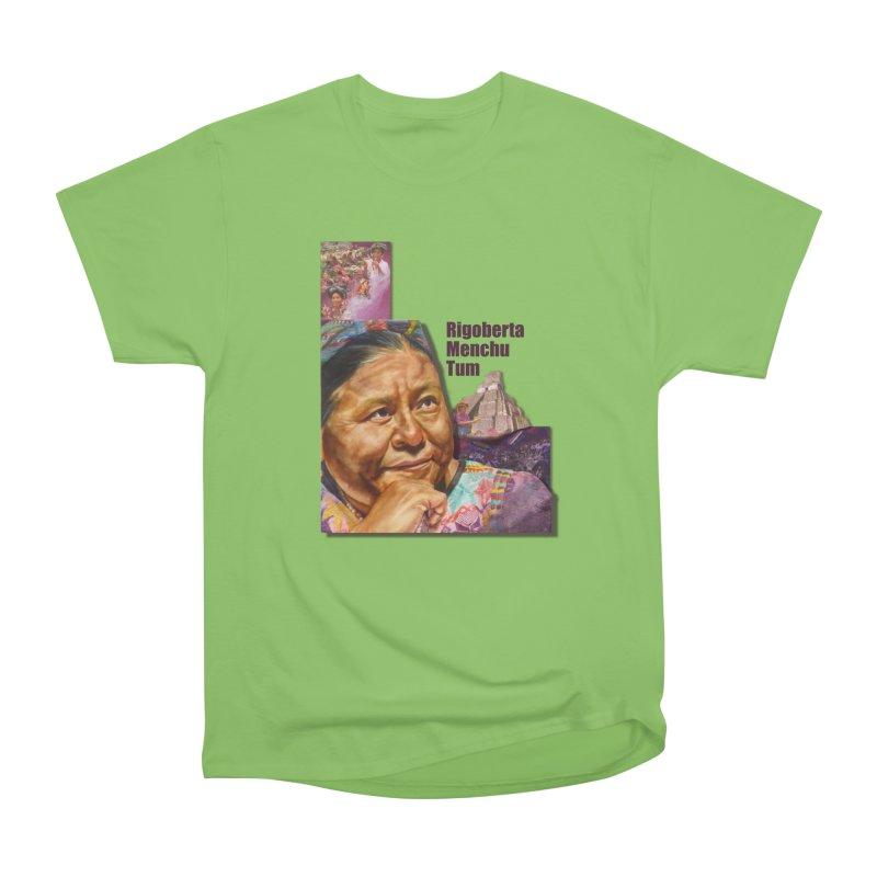Rigoberta Menchu Tum Women's Heavyweight Unisex T-Shirt by Afro Triangle's