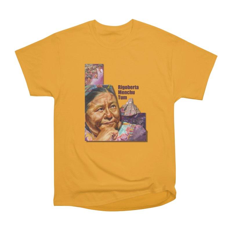 Rigoberta Menchu Tum Women's Classic Unisex T-Shirt by Afro Triangle's