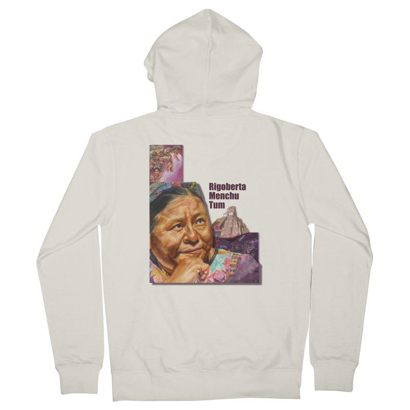 Rigoberta Menchu Tum Women's Zip-Up Hoody by Afro Triangle's