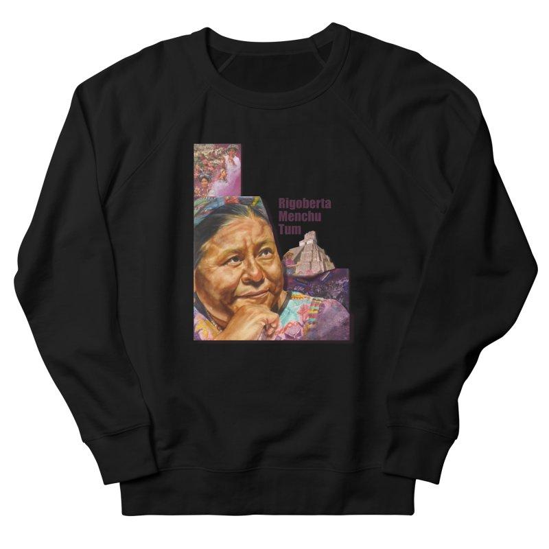 Rigoberta Menchu Tum Women's French Terry Sweatshirt by Afro Triangle's