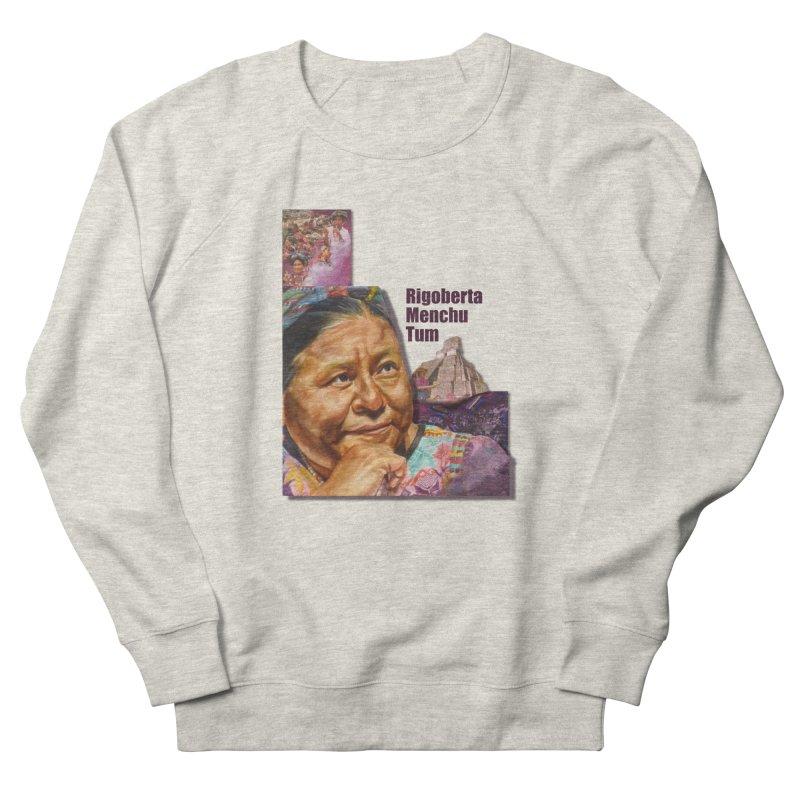 Rigoberta Menchu Tum Men's French Terry Sweatshirt by Afro Triangle's
