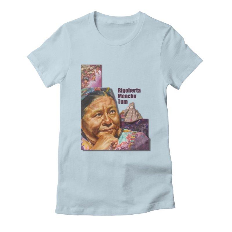 Rigoberta Menchu Tum Women's T-Shirt by Afro Triangle's