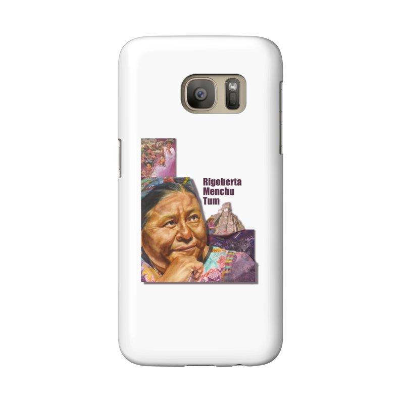 Rigoberta Menchu Tum Accessories Phone Case by Afro Triangle's