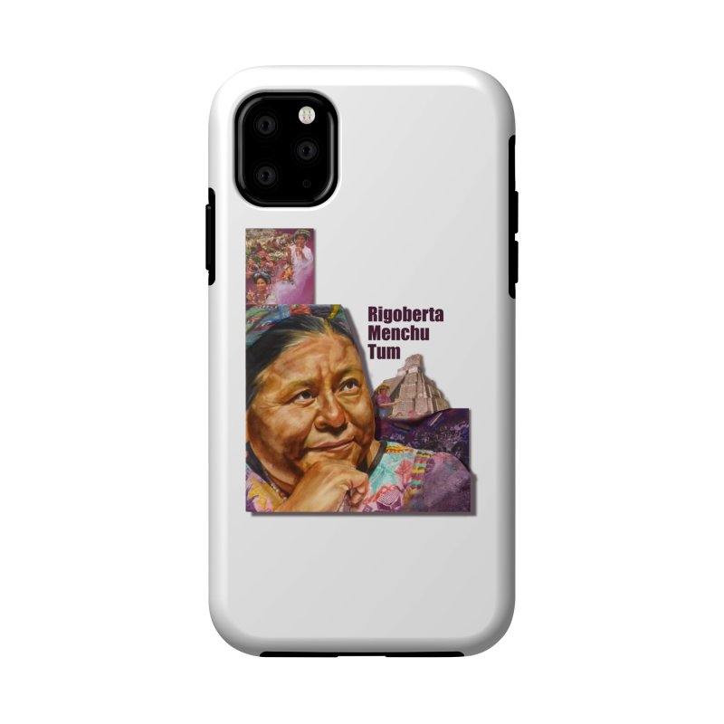 Rigoberta Menchu Tum Accessories Phone Case by Afro Triangle's