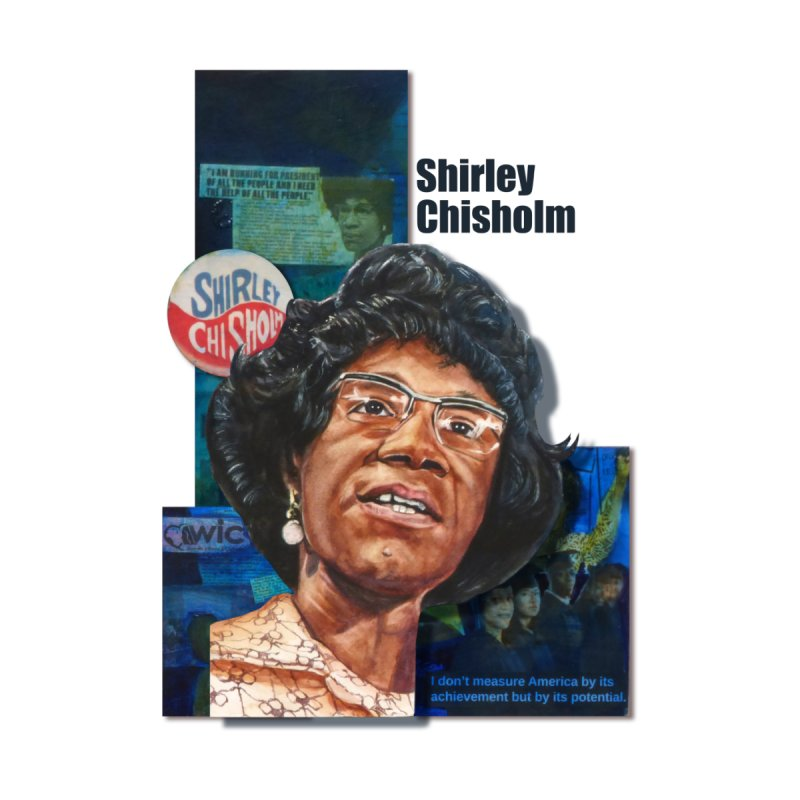 Shirley Chisholm Men's Tank by Afro Triangle's